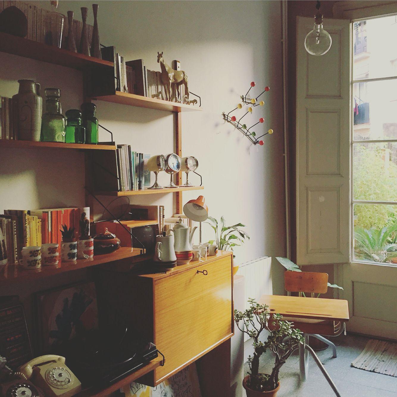 Vintage home decor. Así define Cheznousbcn la RevistaAD: \
