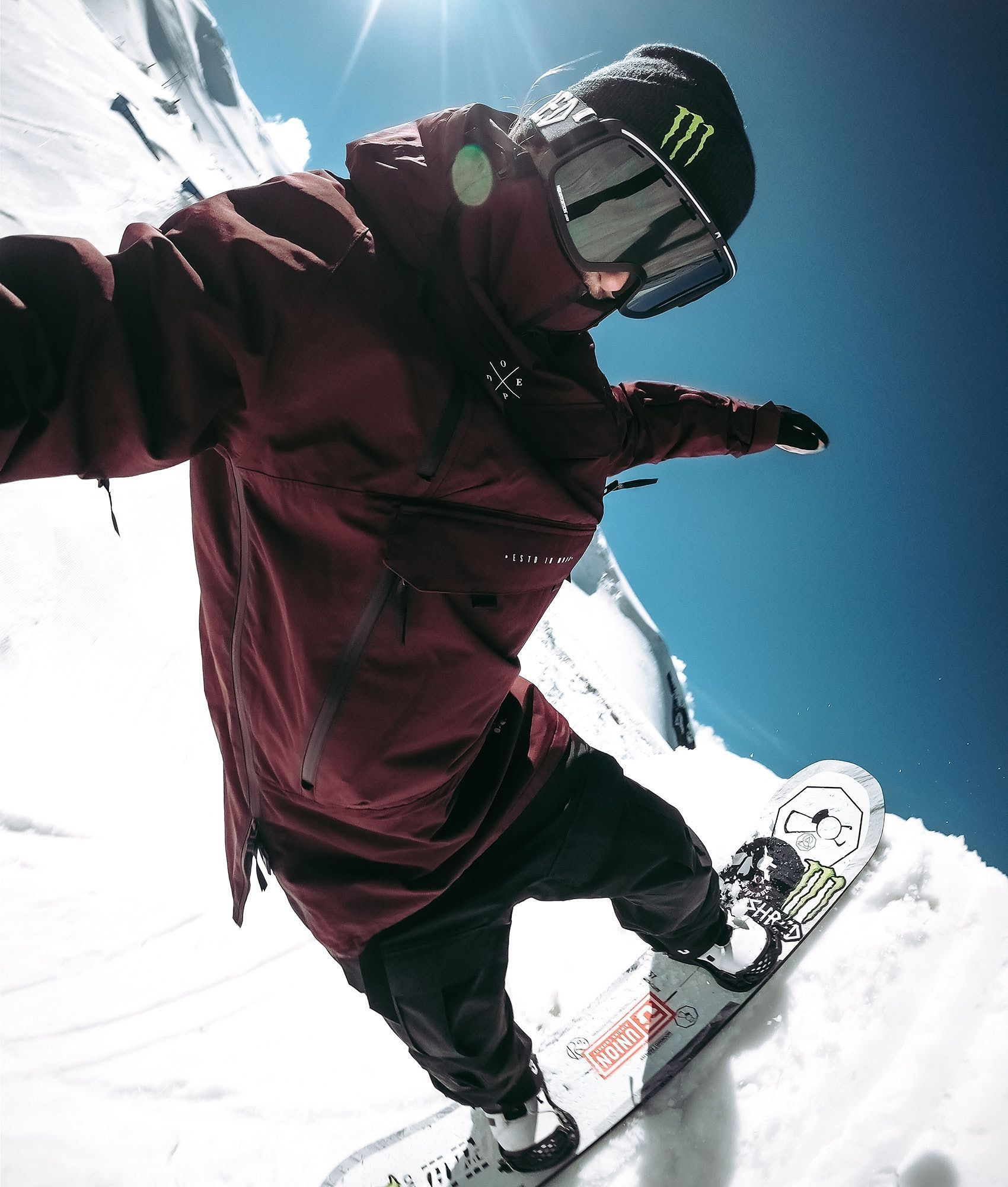 Extreme Snowboard Mens Funny Snowboarding Hoodie Board Boots Piste Skiing