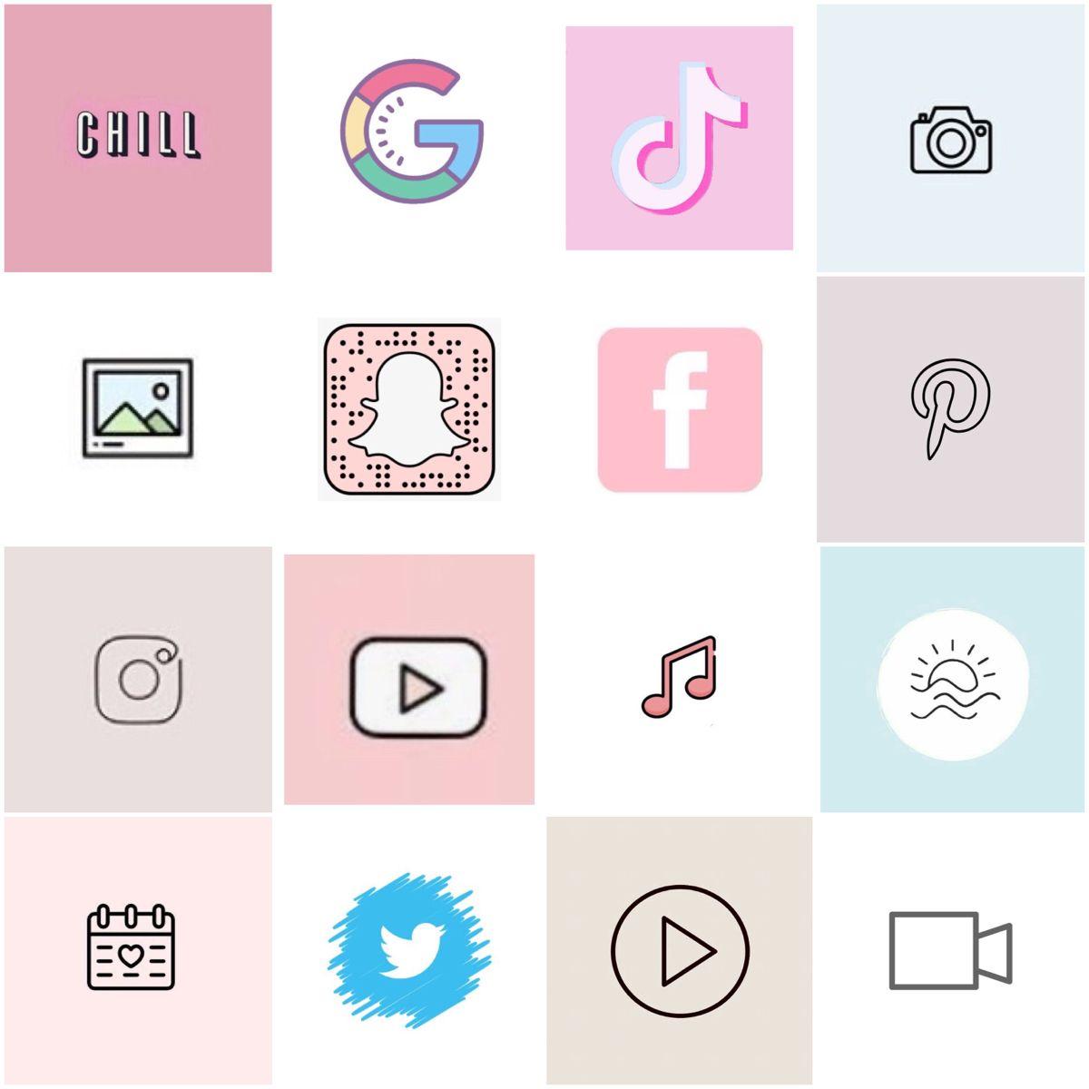 ig: @carleighdebrock in 2020 | Iphone icon, Cute app, App ...