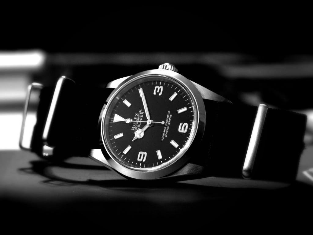 Rolex Explorer on Nato Strap | Time | Rolex watches, Rolex ...