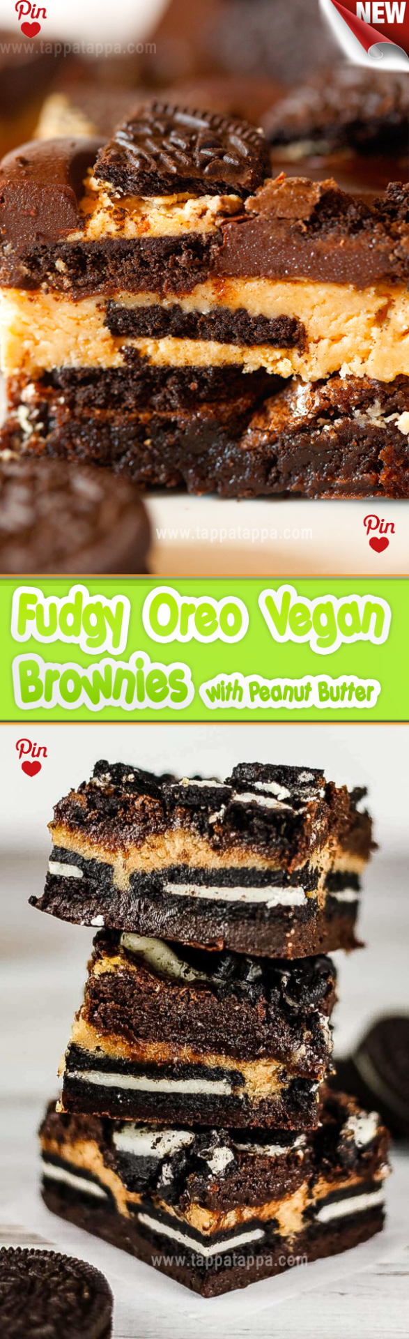 Fudgy Oreo Vegan Brownies with Peanut Butter . 2 15 oz cans black beans (3 cups)…