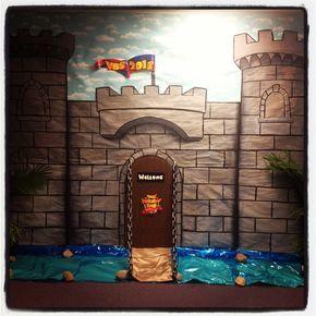 Resultado de imagen de castle decor for vbs