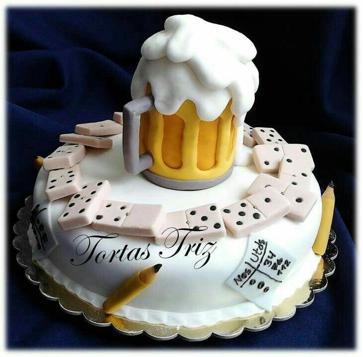 Happy Birthday Para Hombres Cerveza ~ Pin by juanys mendez on pasteles pinterest cake birthday cakes and th