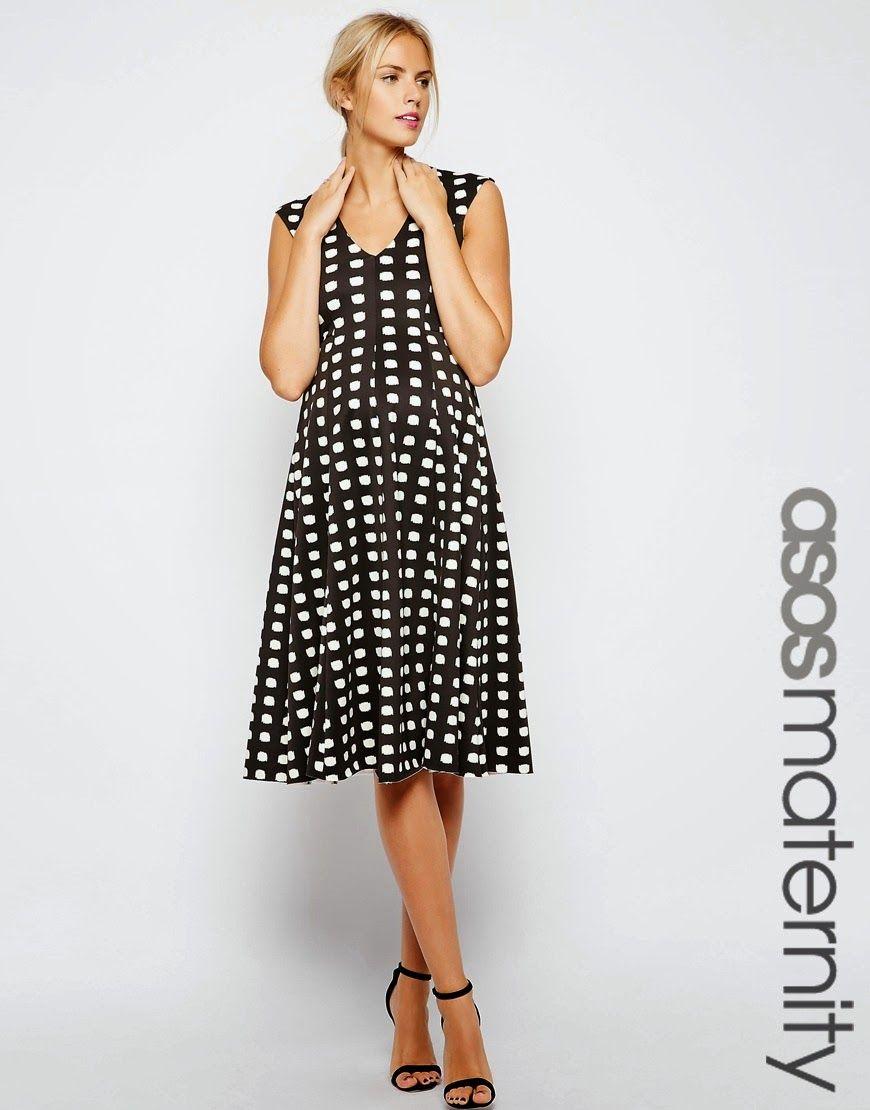 3689bb732 Grandiosos vestidos casuales para embarazadas 2015