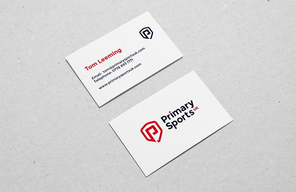 Primary sports uk business card business cards design pinterest branding visual identity and logo designs design business card designbusiness cardscorporate brandingstationery reheart Images