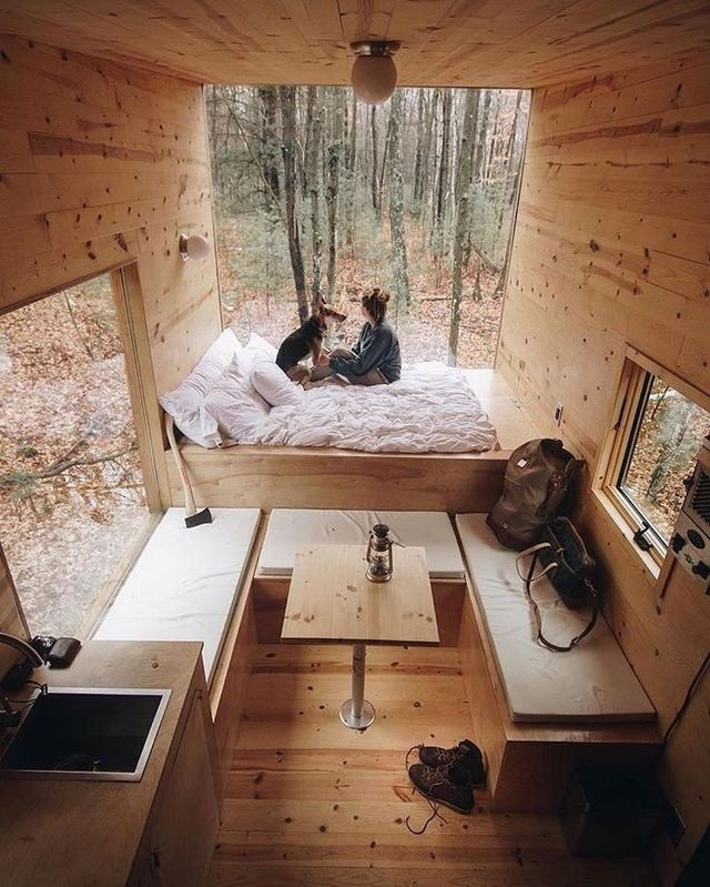 12 Free Diy Tiny House Plans Tiny House Decor Tiny House Design Tiny House Inspiration
