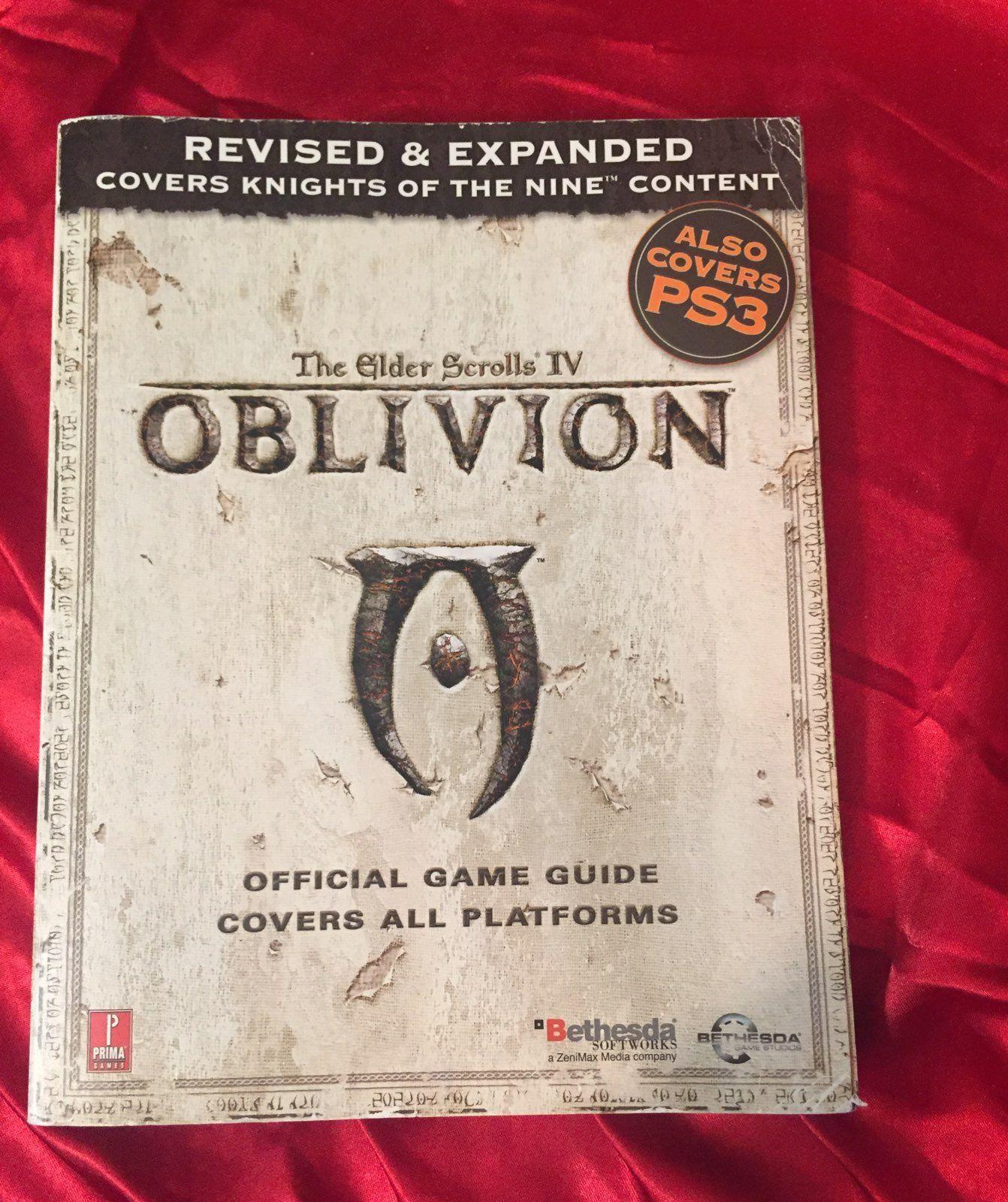 elder scrolls oblivion iv strategy guide mercari buy sell rh pinterest com Oblivion Weapons Guide Elder Scrolls Oblivion Guide.pdf