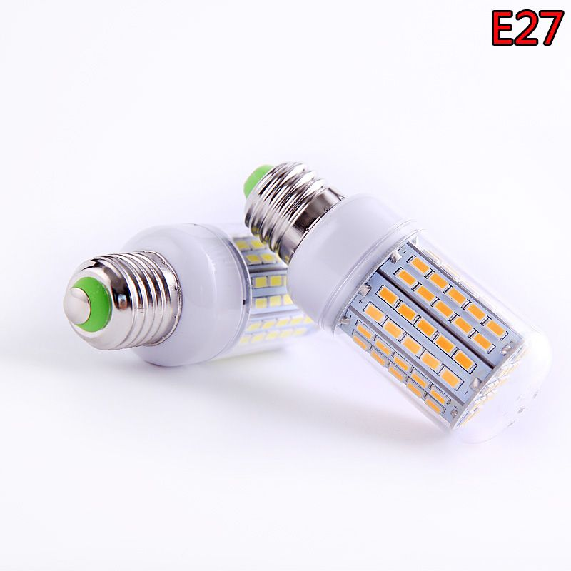 SMD 5730 E27 E14 IC Smart LED Lamp 220V 230V 240V Energy Saving LED
