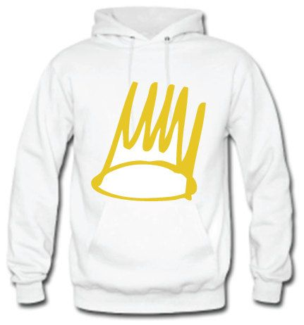 J Cole Gold Crown Hoodie J Cole Gold Crown Sticker by SupremeCut ... 93d30ed4cbe