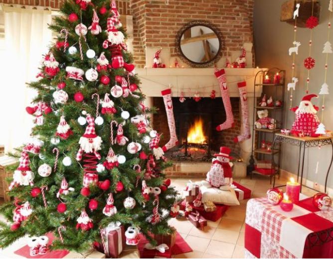 Como decorar tu casa por Navidad. Árbol de navidad | NAVIDAD ...