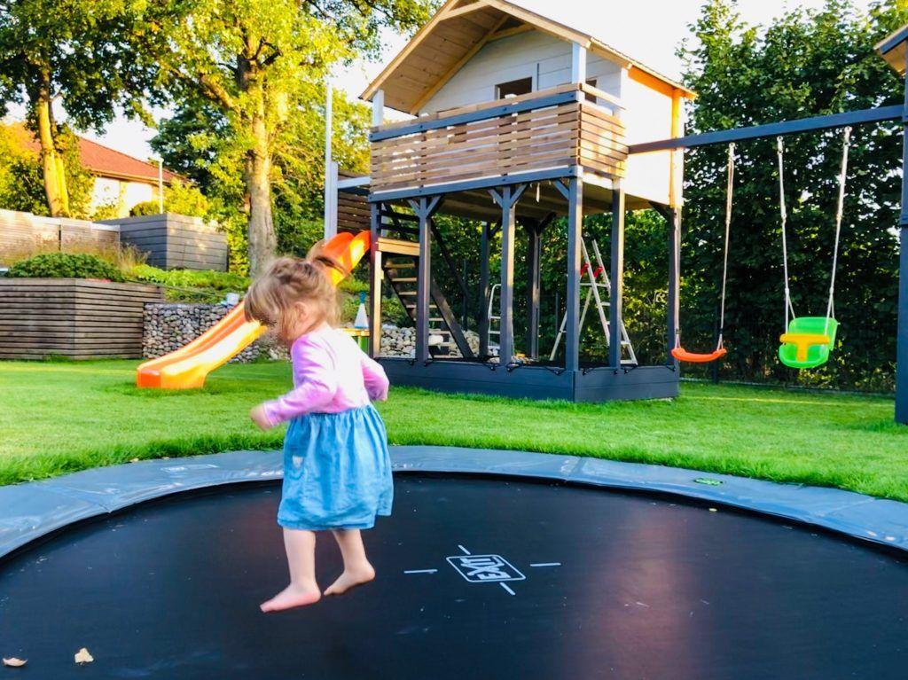 Spielplatz Im Garten 5 Grunde Fur Ein Inground Trampolin Familiethimm De In 2020 Inground Trampolin Bodentrampolin Spielplatz