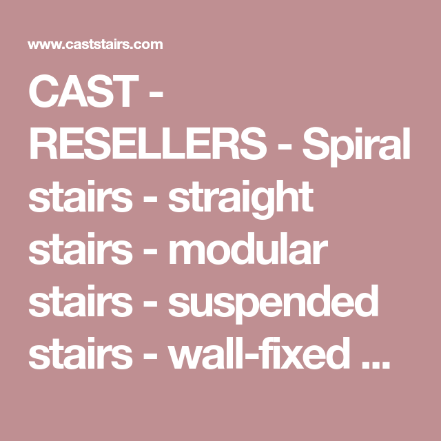 Best Cast Resellers Spiral Stairs Straight Stairs 400 x 300