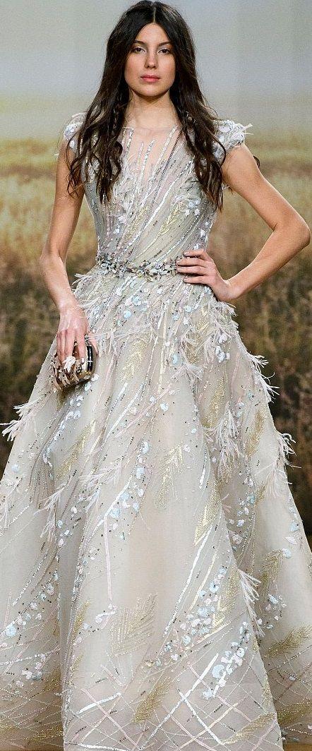 Ziad Nakad HC S/S \'18. | HIGH MAINTENANCE | Pinterest | Gowns ...