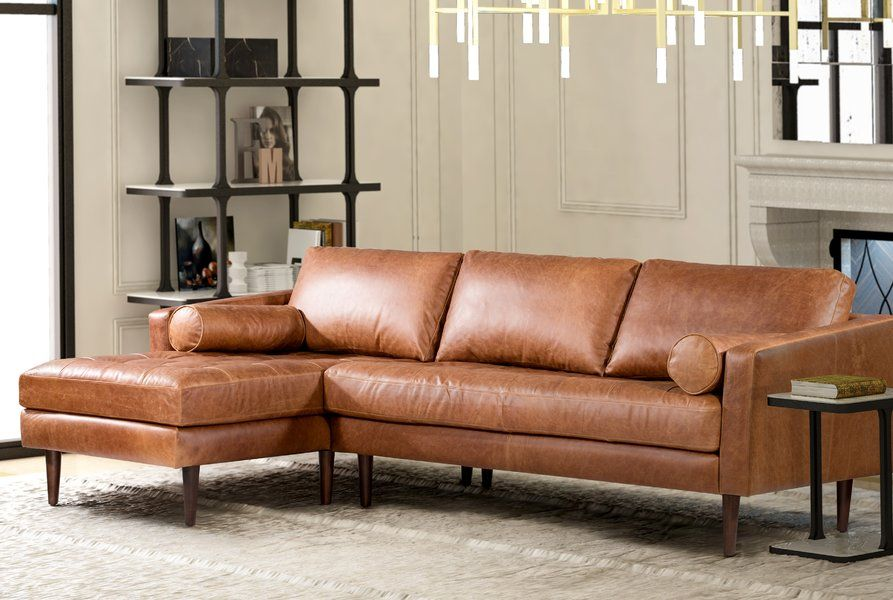Sectionals You Ll Love Wayfair Leather Sectional Sectional Sofa Furniture