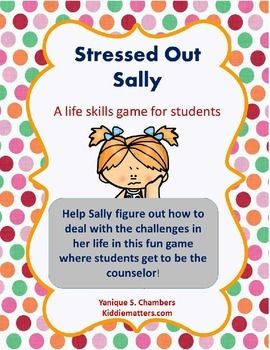 Coping Skills: Stress Management Card Game | Counseling ...