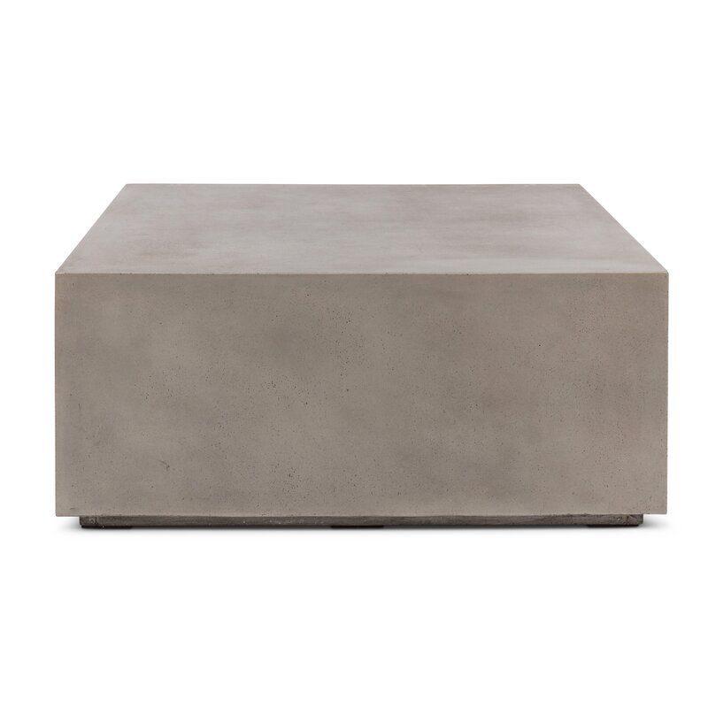 Ranchester Coffee Table Coffee Table Sectional Coffee Table Concrete Coffee Table