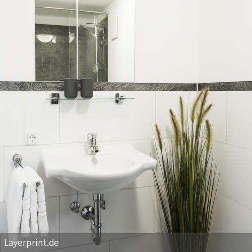 Glasfaser Badezimmer Mit Glas Bordure Glasscheiben Glasfaser Und Wohnen