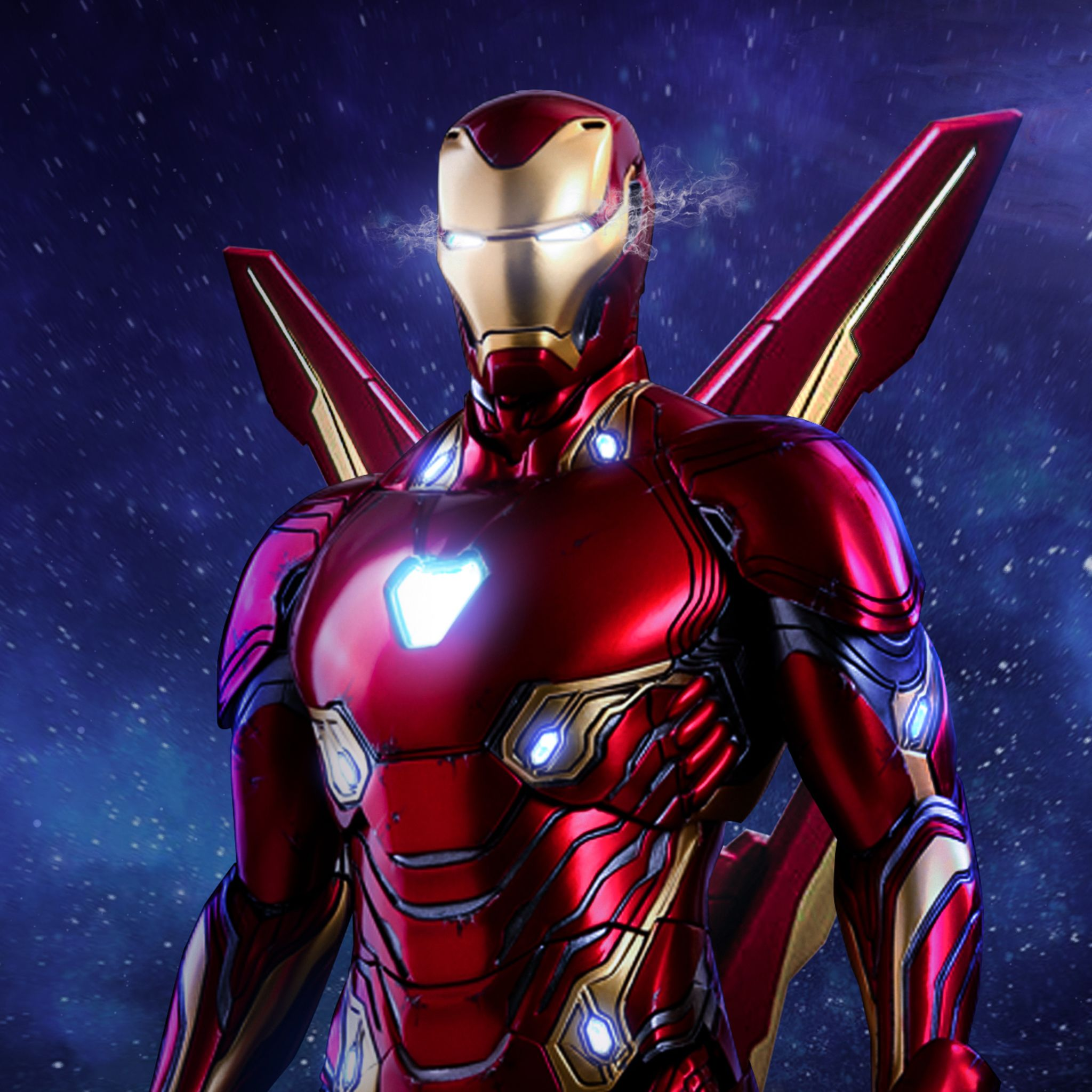 2048x2048 Iron Man Avengers Infinity War Suit Artwork Ipad Air Hd 4k Wallpapers Images Backgrounds Photos And Pictures Iron Man Avengers Iron Man Avengers