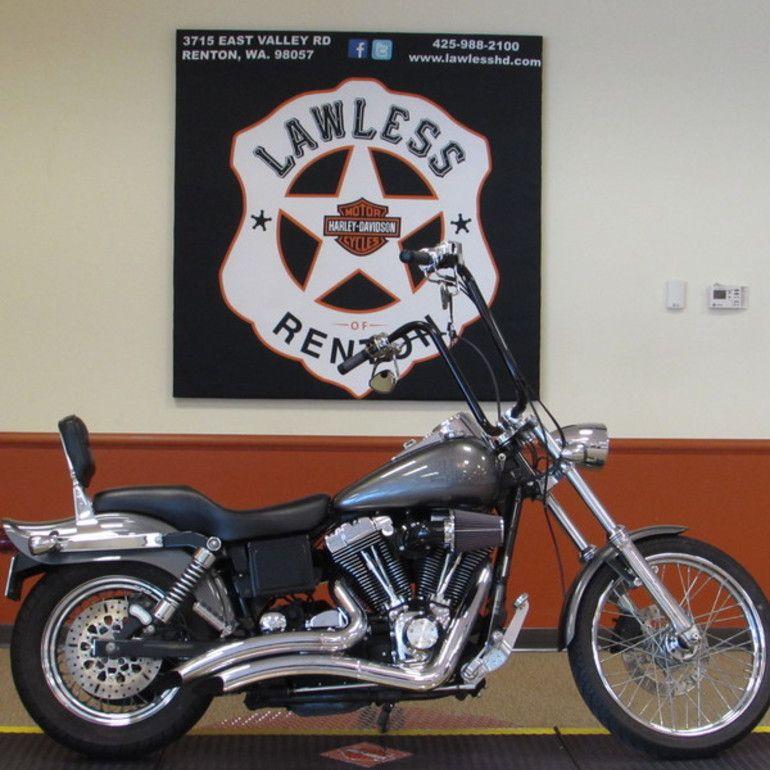 2004 HarleyDavidson FXDWGI Wide Glide, Renton WA