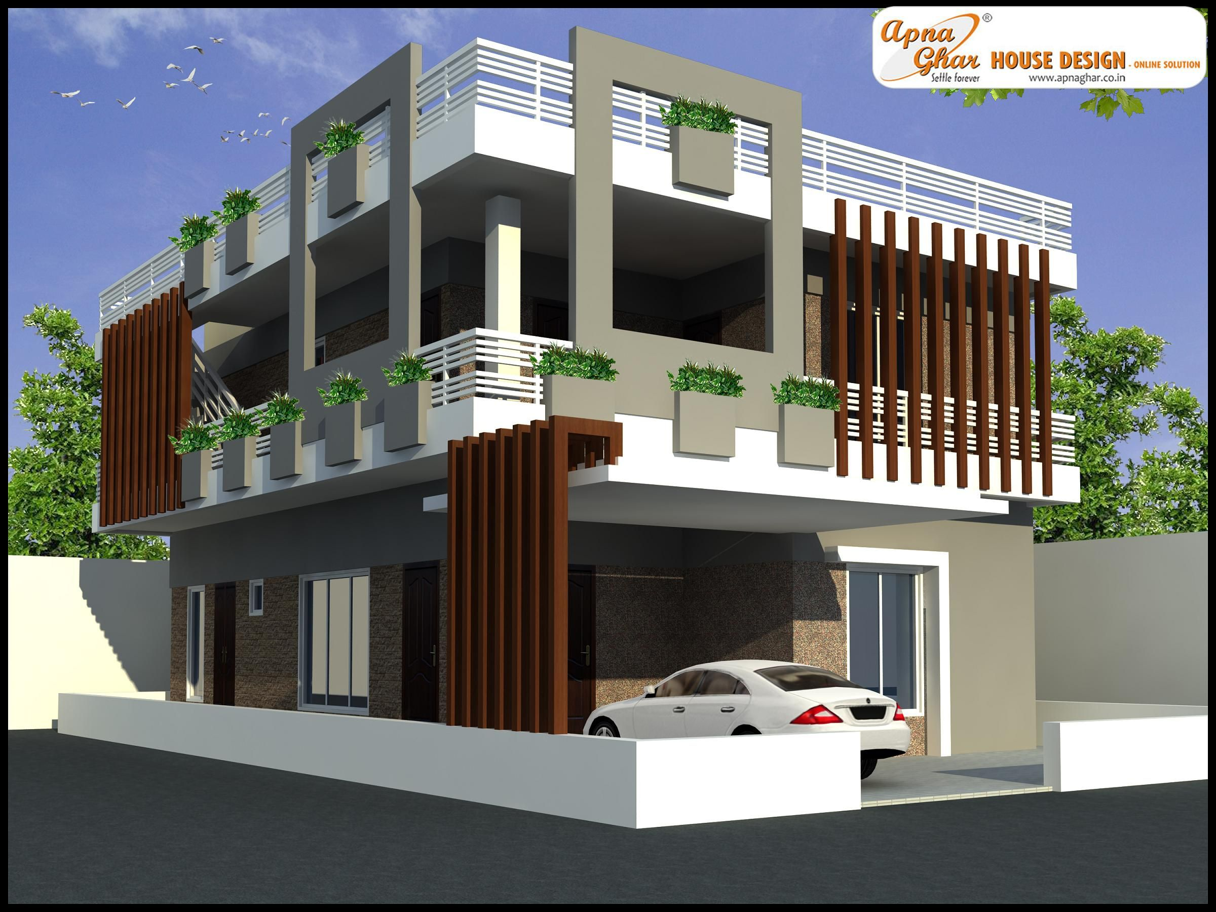 Modern Duplex House Design Philippines Zion Star