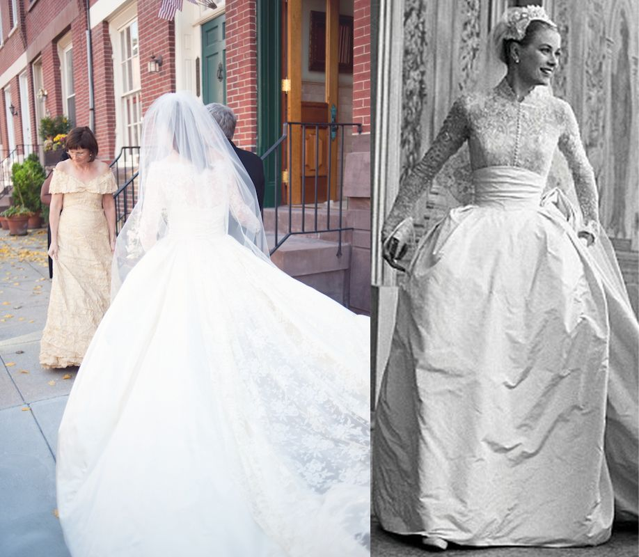 Grace Kelly Inspired Wedding Gowns: Grace Kelly Inspired The Contemporary Classic Gown Of Silk