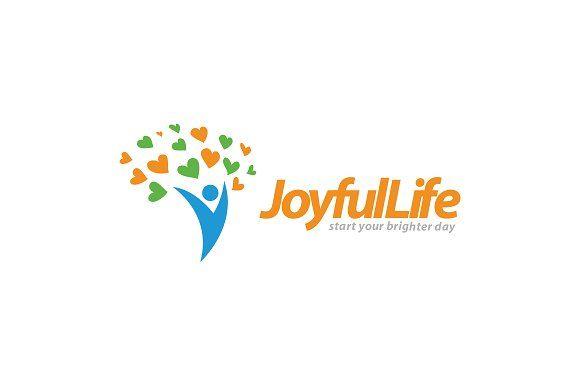 joyful life wellness logo joyful logos and logo templates rh pinterest com wellness clinic logos wellness logos free
