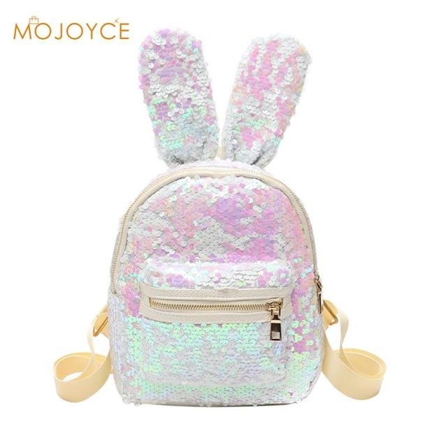 04c69ae01af Ladies Bling Double Color Reversible Sequins Mermaid Backpack. A ...