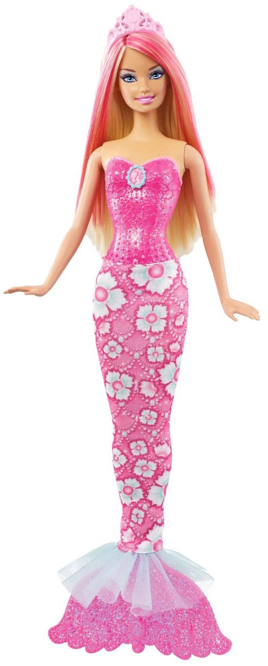 Barbie Sirena Mechas Rosas Barbie Mermaid Barbie Barbie