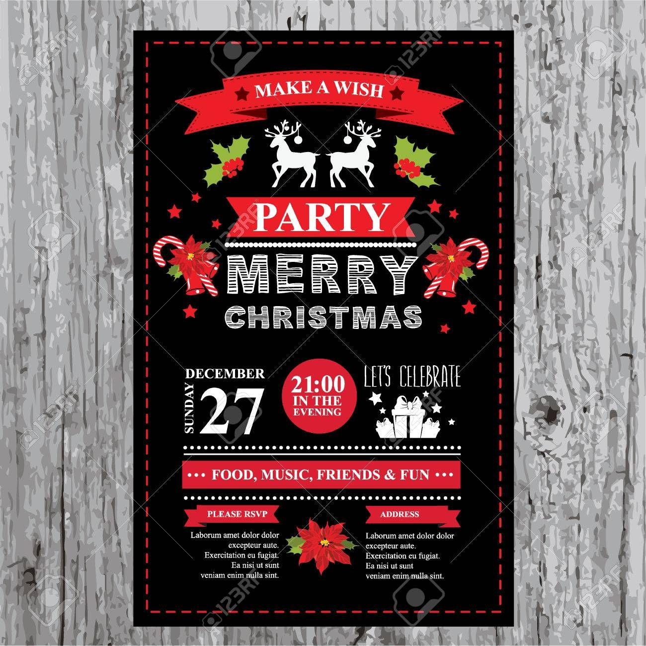 christmas restaurant and party menu