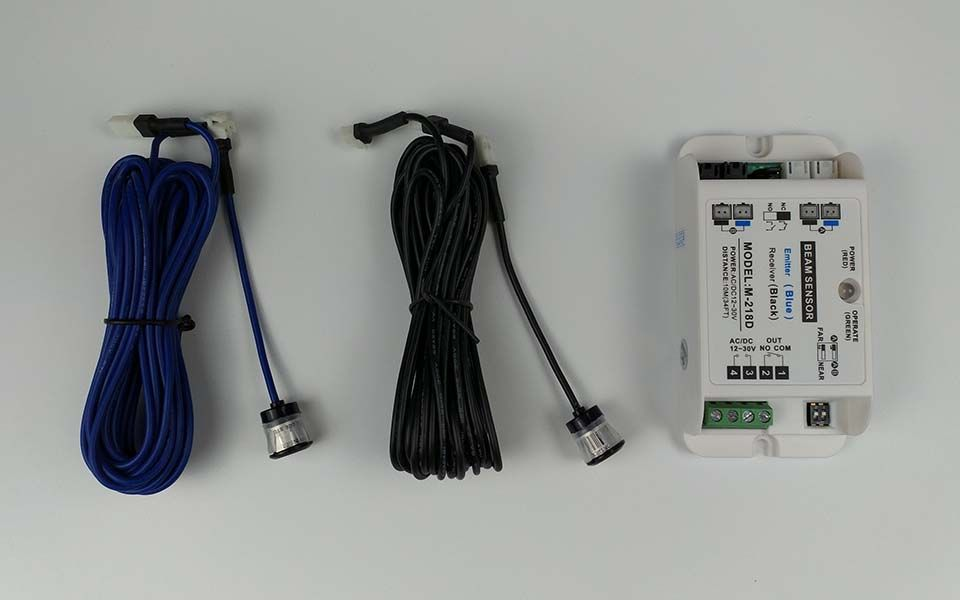 Safety Beam Sensor Light Barrier Photocell Safety Sensor Sanway Technology Light Sensor Automatic Sliding Doors Sensor