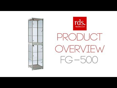 FG 500 Portable Display Cabinet   Folding Display Cabinets   Exhibition Display  Cabinets