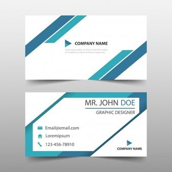 Blue triangle corporate business card template eagle pinterest name card template name card design vectors photos and psd files reheart Images