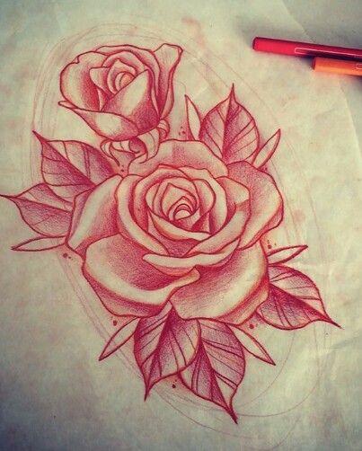 Rose tattoo \u2026