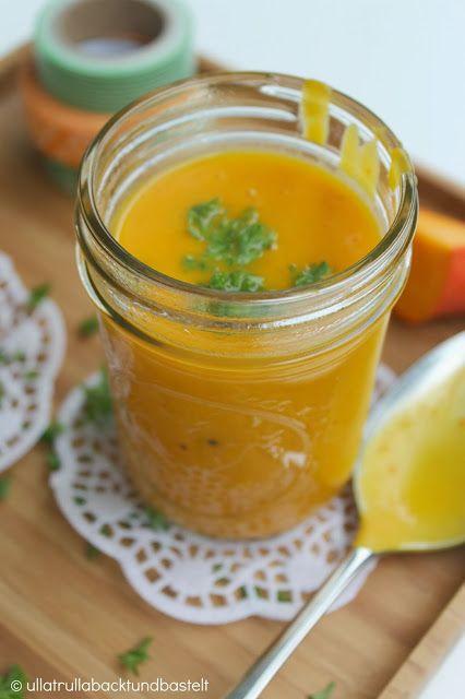 ullatrulla backt und bastelt: Soup of pumpkin with coco nut