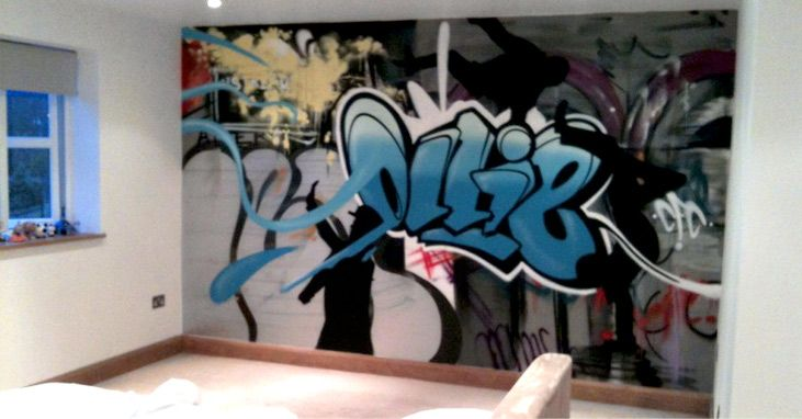 Perfect #Graffiti Bedroom Walls   Cool! Hire An Artist To Come And Paint A Wall For  You. | Kids Bedroom Ideas | Pinterest | Graffiti Bedroom, Graffiti And  Bedrooms