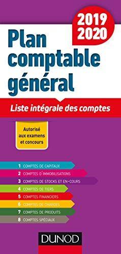 Liste Des Comptes Du Plan Comptable : liste, comptes, comptable, Gnral, 2019/2020, Liste, Intgrale