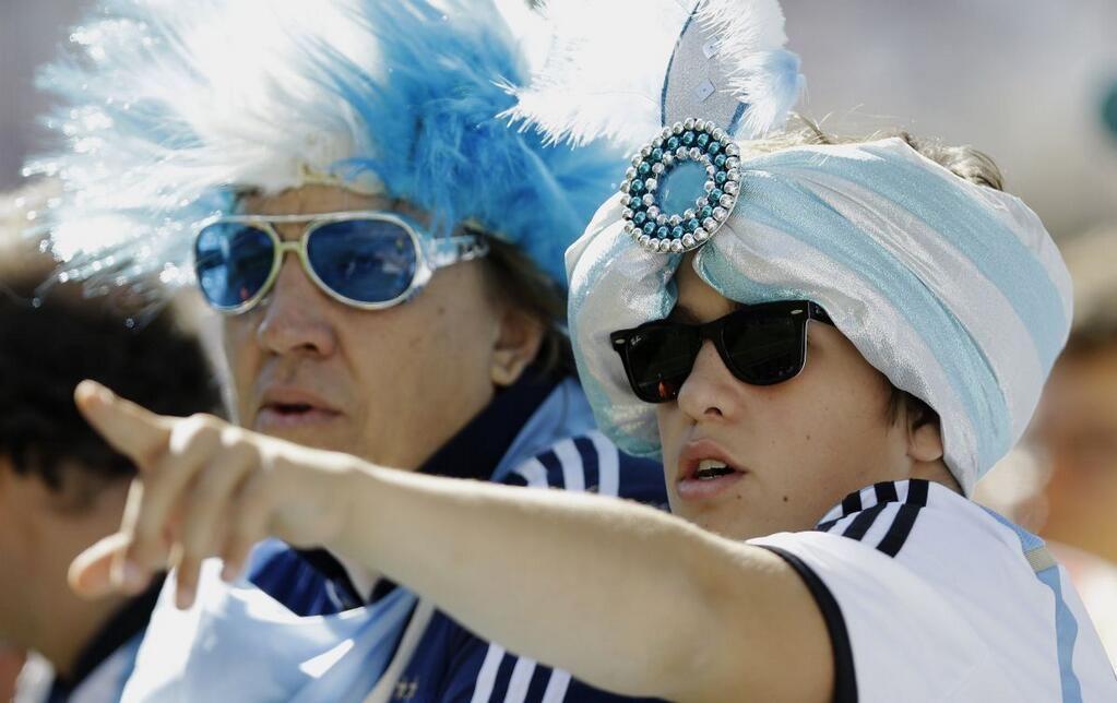 Hinchas argentinos en Brasil 2014 pic.twitter.com/Zd9qIkC2WR