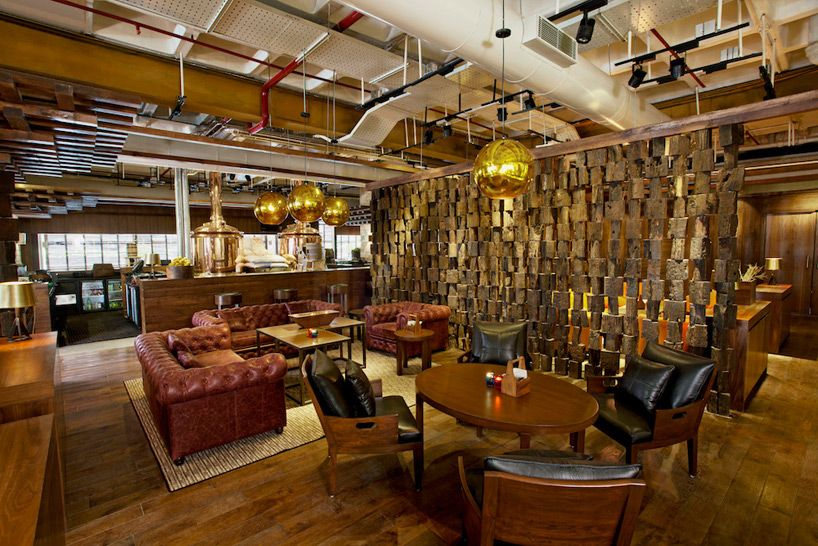 Industrial District 6 Micro Brewery In Bangalore By M Style
