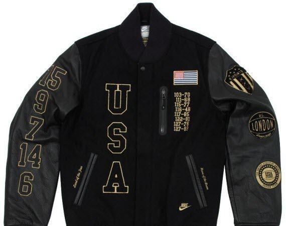 "d50e27302d870 Nike Sportswear Destroyer Jacket – ""Dream Team"" Edition – Black ..."