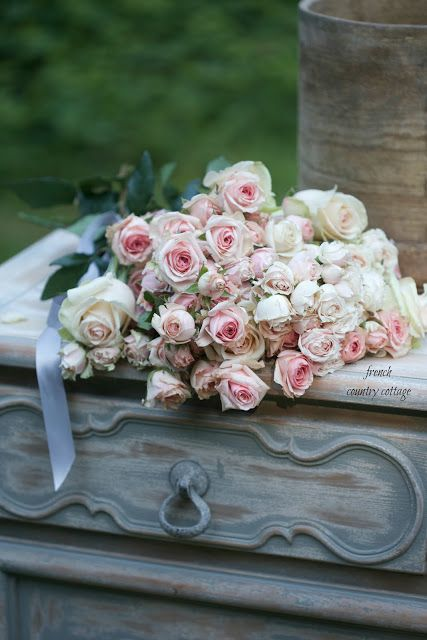 Inspired and romantic living, entertaining, traveling and decorating on french country rose art, french country trees, french country cottage gardens, french country flower, french country vegetable gardens,