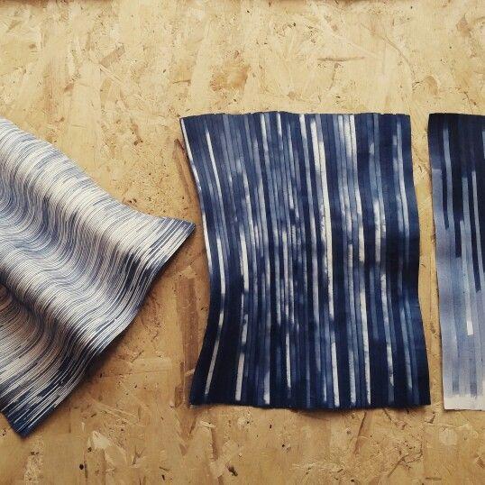 Sample-Lison Barbier-Paper Design-Sculpture-Dyed Paper https://www.facebook.com/pages/Lison-Barbier/556882751064273?ref=br_rs