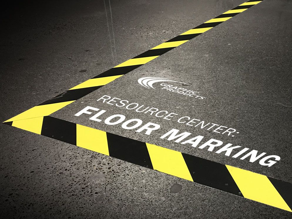 When done right, floor marking brings awareness to