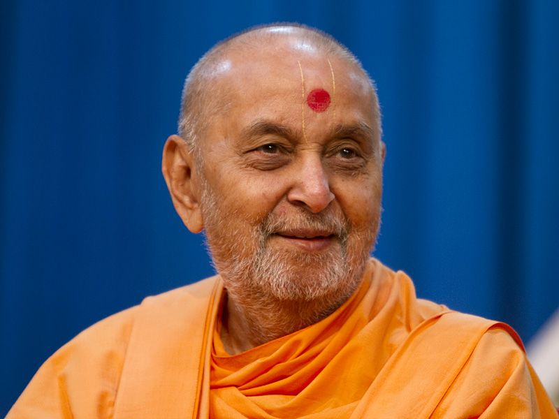 His Holiness Pramukh Swami Maharaj
