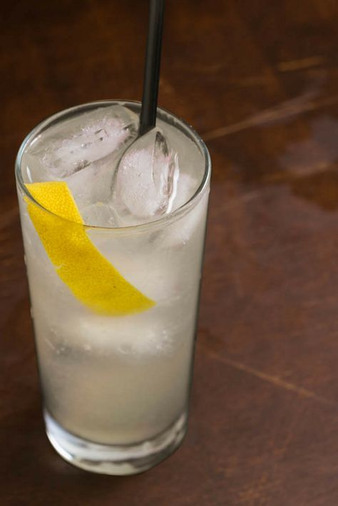 Keep some lemons and soda water on-hand this weekend and knock together a Collins in between grilling stints.