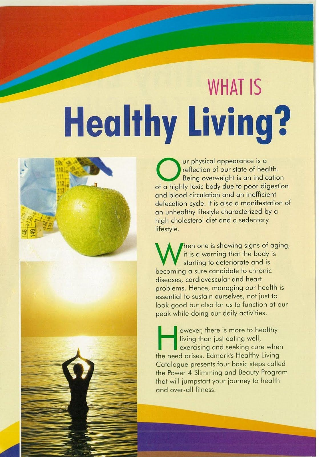 Living Healthy Lifestyle