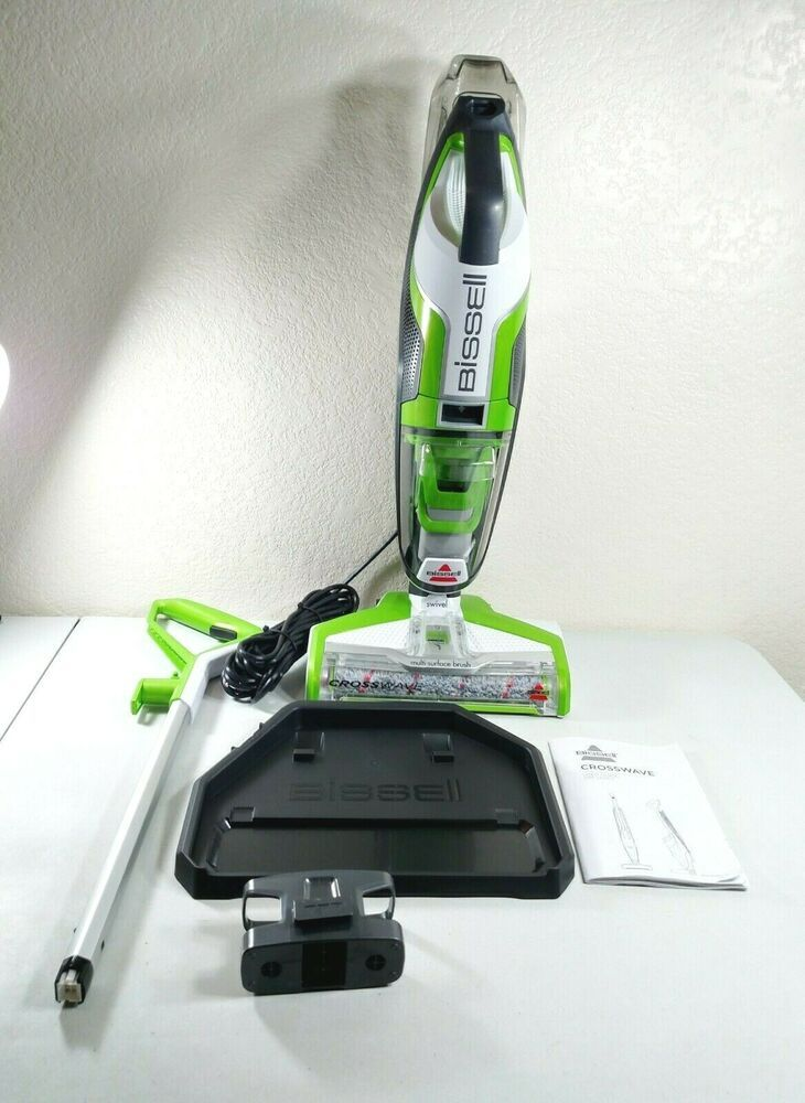 Bissell Crosswave Floor And Carpet Cleaner With Wet Dry Vacuum