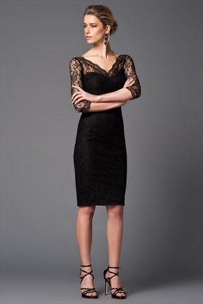 Siyah Elbise Mlwss156940 Elbise Dress Outfits Siyah Elbise