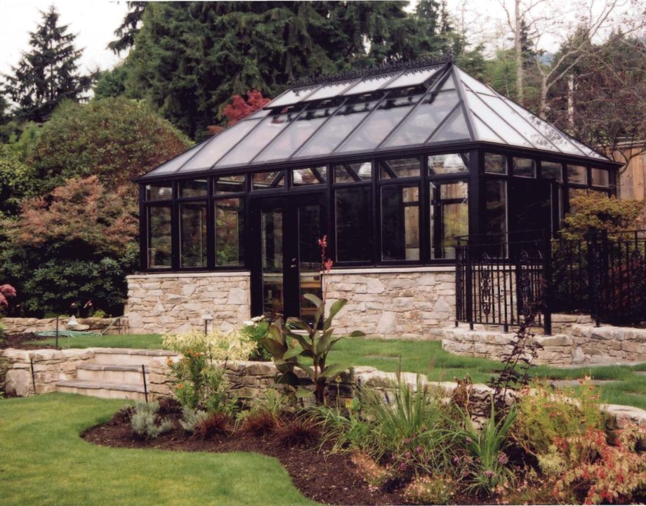 Custom Greenhouse with Hip Roof Greenhouse, Conservatory