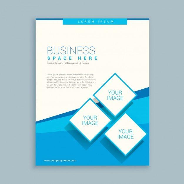 abstraite conception de la brochure d\'affaires dans les couleurs ...