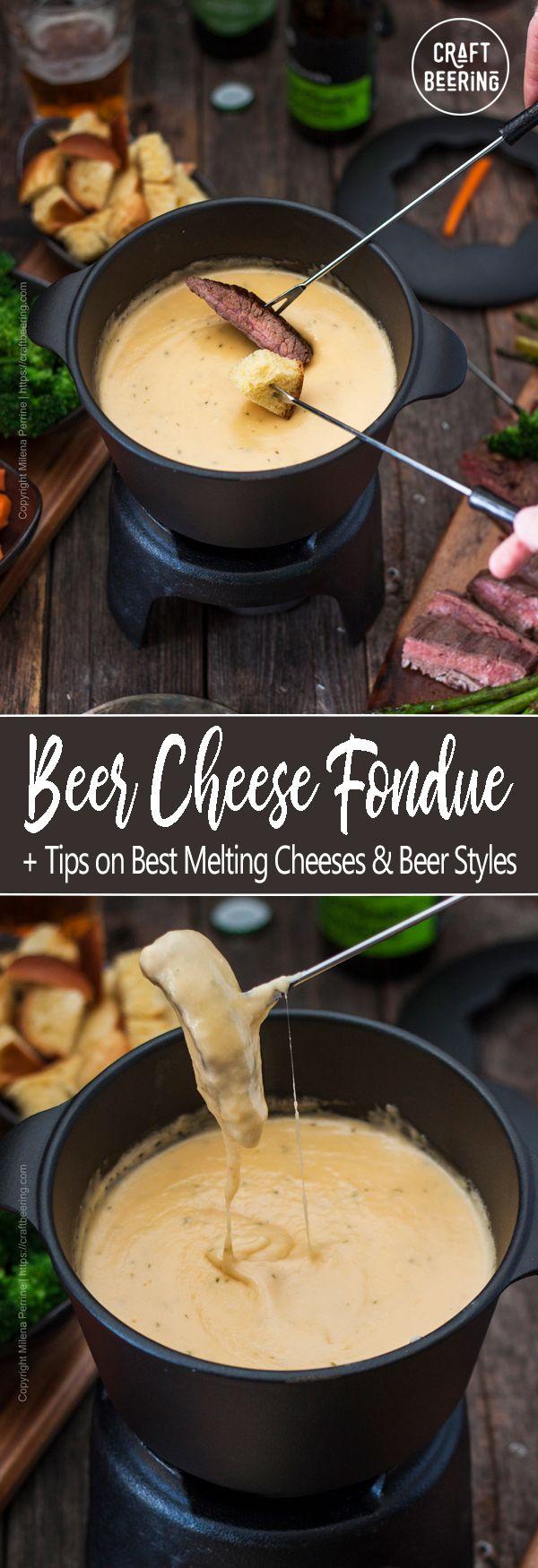 Beer Cheese Fondue #fondue